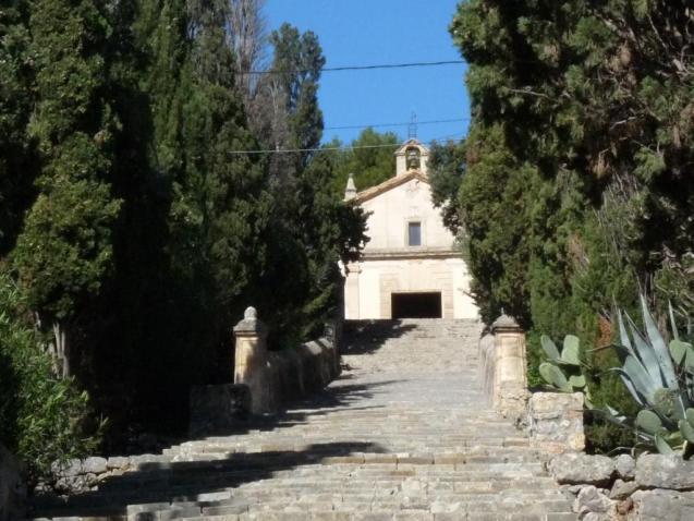 The Calvari in Pollensa, Mallorca