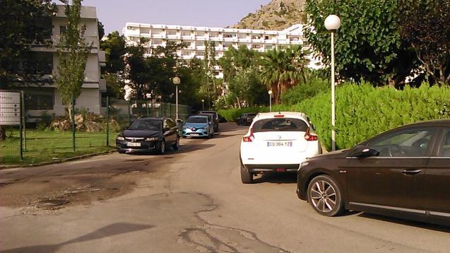 Parking in Bellevue and by the Siestas in Puerto Alcudia