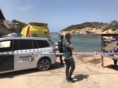 Guardia Civil in Ibiza.