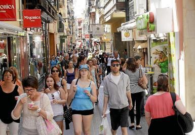 A diverse population in Mallorca.