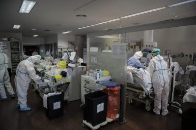ICU at Son Espases.