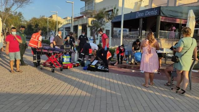 Stabbings at a restaurant in Can Picafort, Mallorca