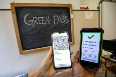 Green Pass vaccine passport