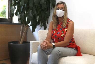 Health minister Patricia Gómez.