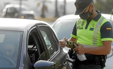 Alcohol and drugs tests for drivers are commonplace in Mallorca.