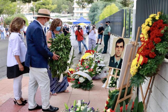 Remembering Guardia Civil officers killed by ETA in Mallorca