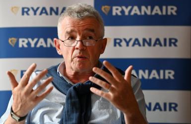 Ryanair upbeat.