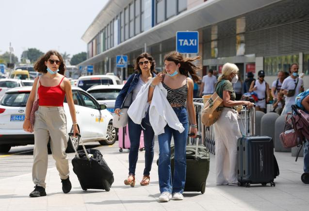 The number of foreign tourists visiting Spain jumped to 4.4 million in July