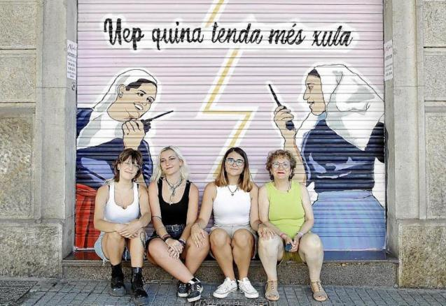 Laia Fernández-Pacheco, Ana María García, Lucía Díaz & Francisca Vives.
