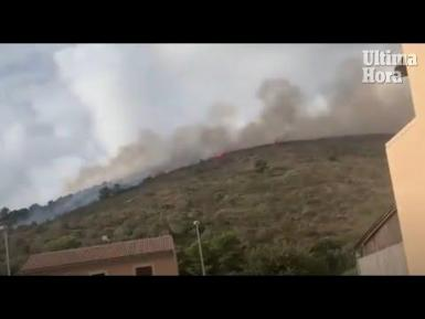 Puig de Son Manxo fire
