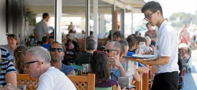 Waiter in Mallorca