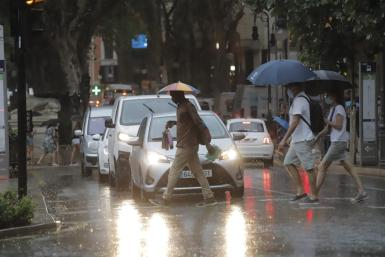 As August turns to September, rain is hardly unusual in Mallorca.