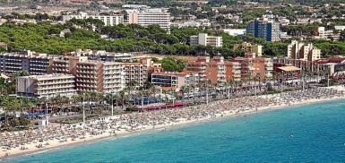 Playa de Palma, Mallorca. archive photo.
