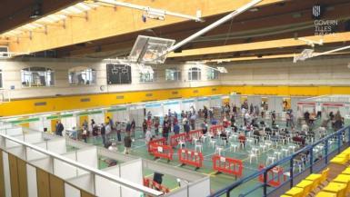 Mass vaccination centre, Palma. archive photo.