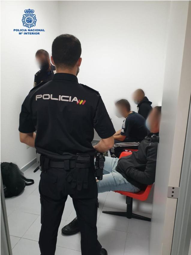 Arrests at Palma Airport border control, Mallorca