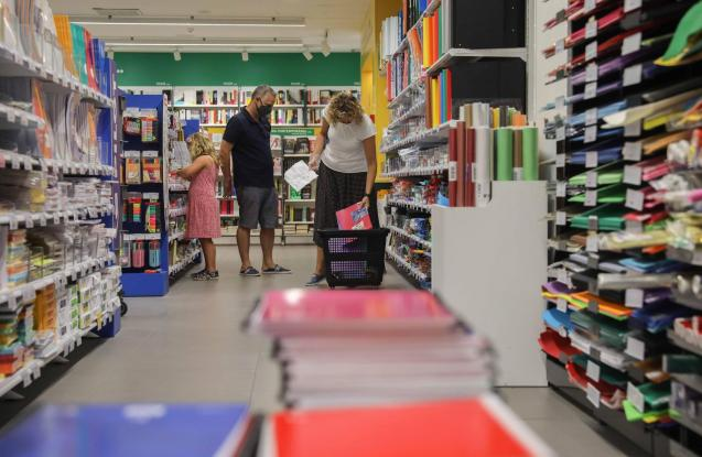 Buying for the return to school in Spain