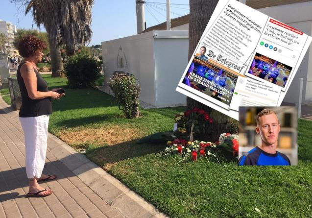 Carlo Heuvelman was fatally beaten in Playa de Palma, Mallorca
