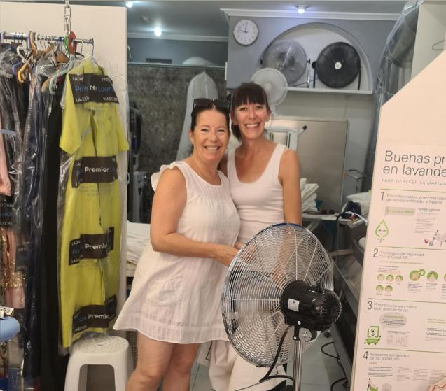 The Premier Laundry team