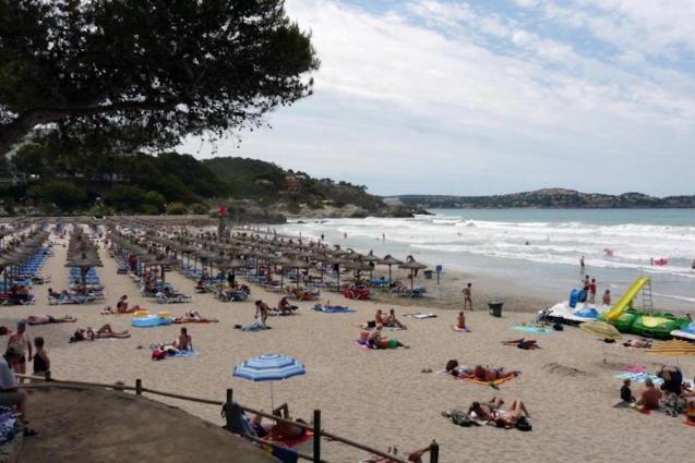 Playa de Peguera, Mallorca.