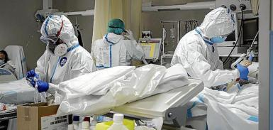 Healthcare Professionals treating ICU patients.