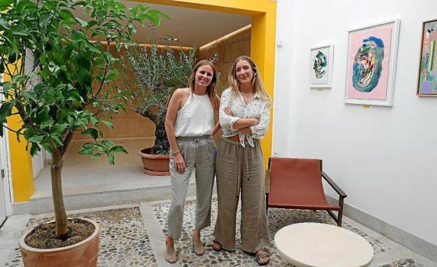 Artist Tamara Nielsen & Uco Bakery co-owner, Caterina Stanton.