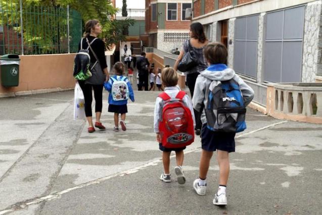 Back to school in Mallorca.
