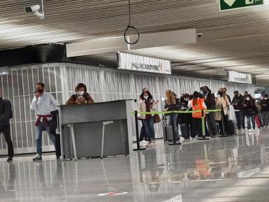 Spanish travellers will not have to fill out a form if they have the Covid certificate.