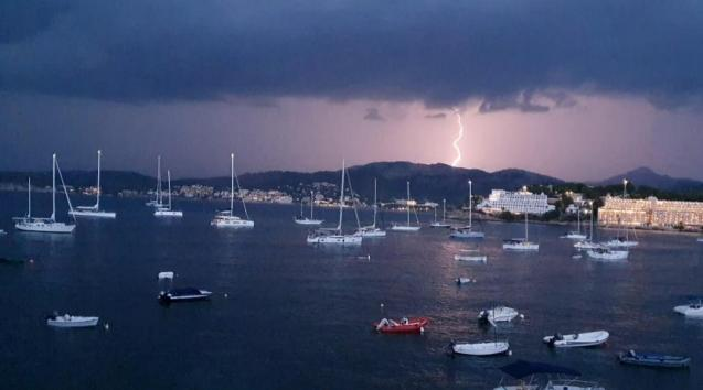 Storm in Mallorca