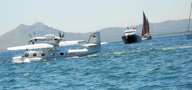 Seaplanes in Mallorca.