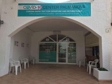Testing centre in Palmanova, Mallorca