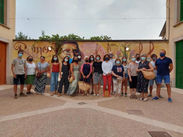 Algaid'Art participants.