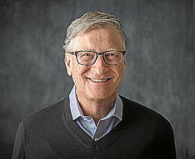 Bill Gates, co-Founder of Microsoft.