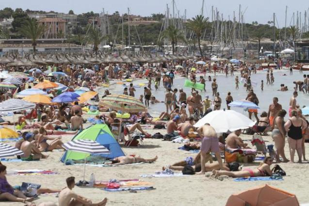 Population growing in Mallorca.