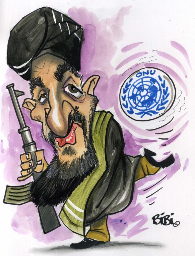 Mullah Hassan Akhund is prime minister of the Taliban's interim government