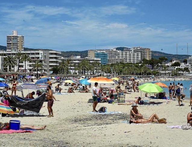 Magalluf Beach, Mallorca.