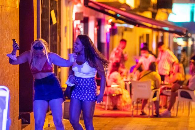 Mallorca is thus more of a drunken tourist's paradise than the rest of the Balearics