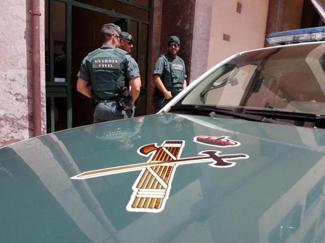 Guardia Civil Officers in Magalluf.