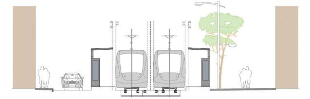Palma Mallorca tram project