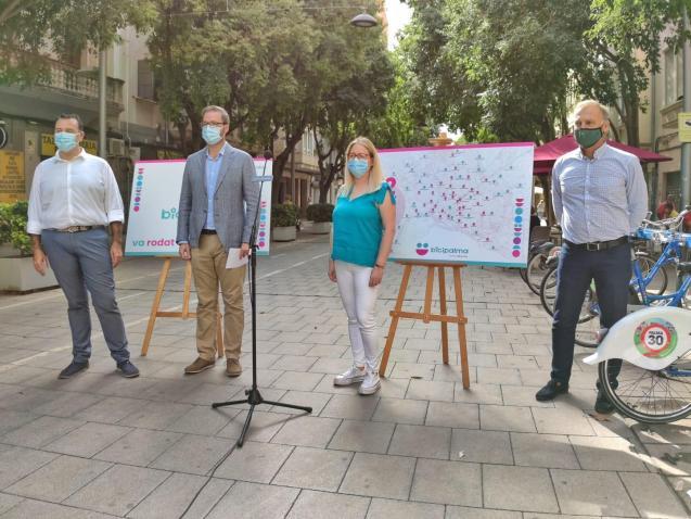 Presentation for renewed Bicipalma service in Mallorca