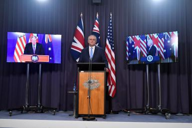 Australia, UK and the US launch security pact AUKUS