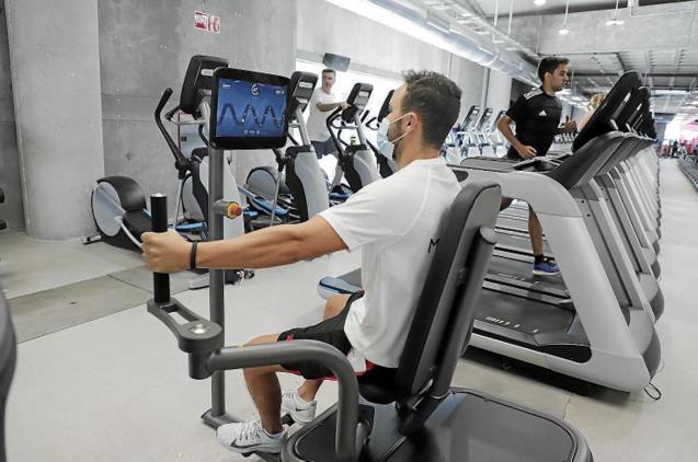 Gym membership in Mallorca.
