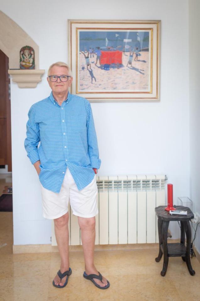 The Chairman of the Mallorca Arts Society, Tim Robinson