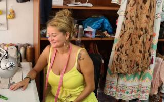 Brilliant seamstress Adriana