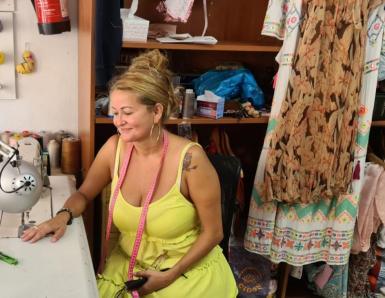 Brilliant seamstress Adriana.
