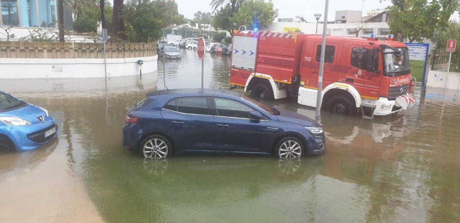 Flooding in Sa Pobla