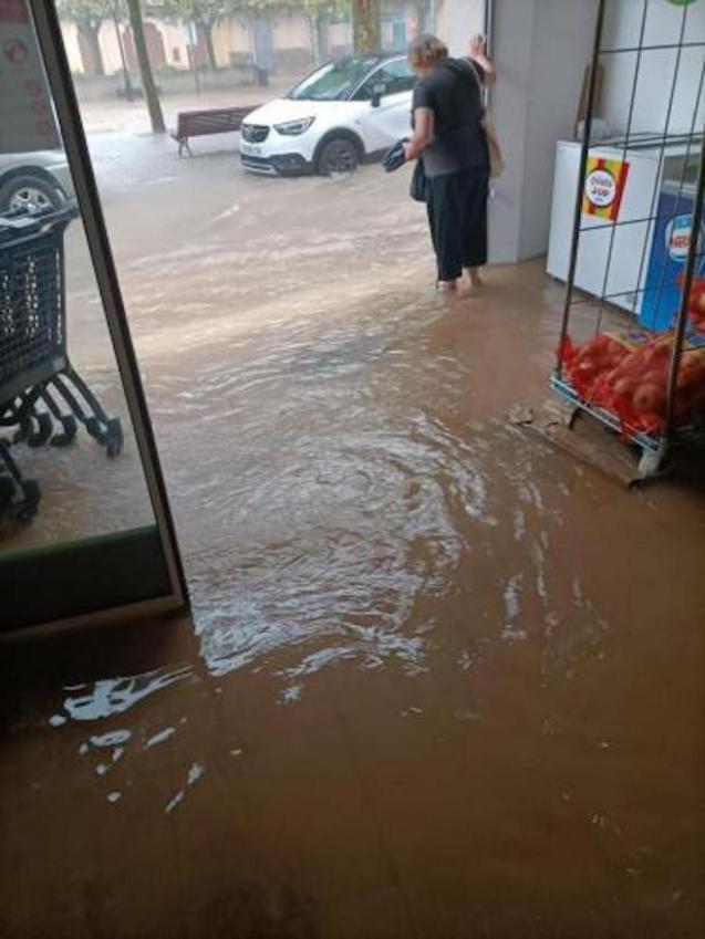 Flooding in Mallorca.