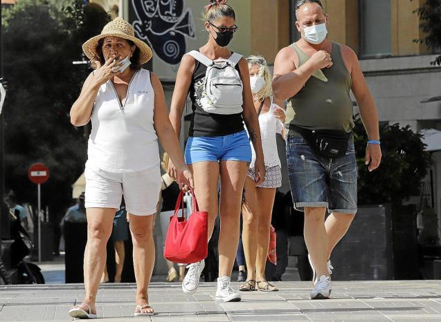 People in Palma.