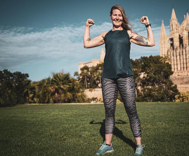 Personal trainer Lotta Asmussen
