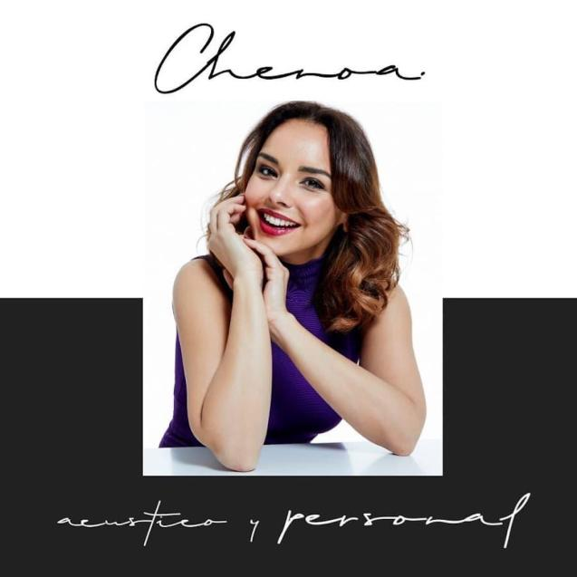 Mallorcan singer, Chenoa.