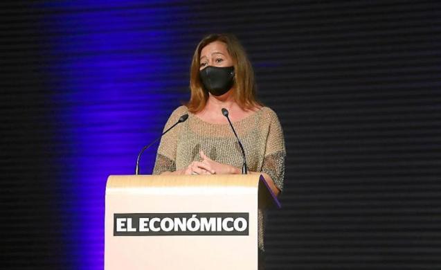 Francina Armengol, Balearic President.